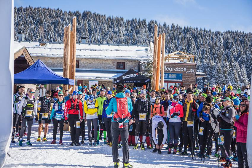 Dolomiti Winter Trail gara #24b27 - 00