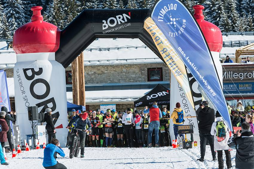 Dolomiti Winter Trail partenza #08c16 - 00