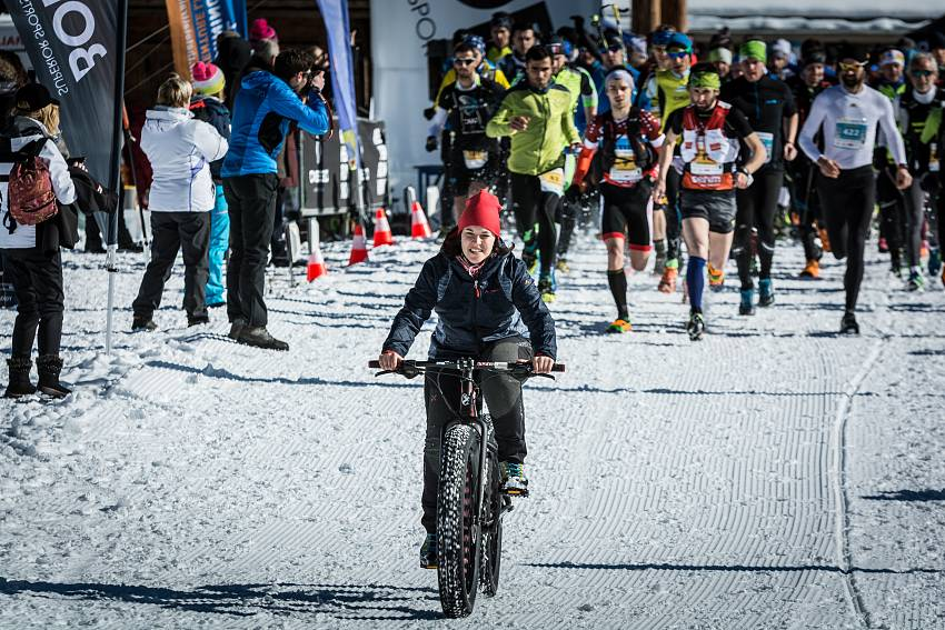 Dolomiti Winter Trail partenza #1cc70 - 00