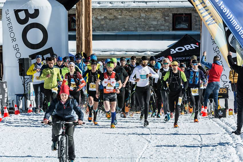 Dolomiti Winter Trail partenza #e536a - 00