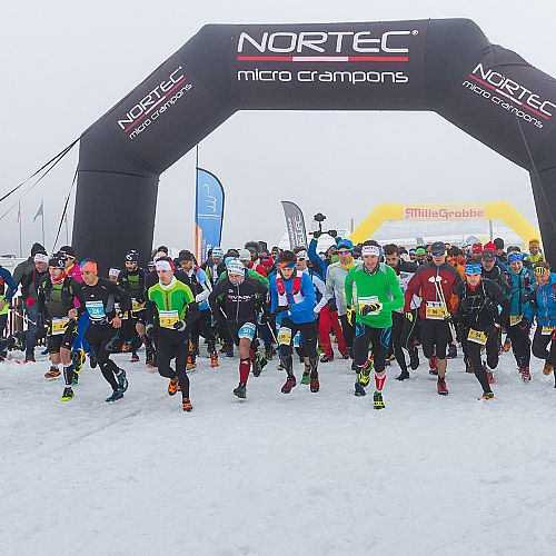 Gara di Snow Running